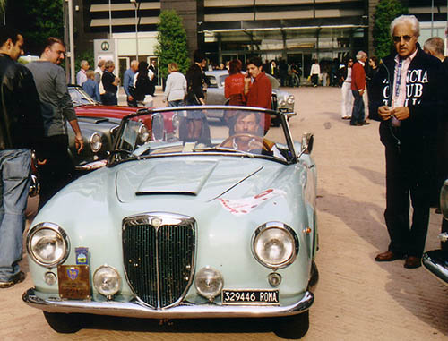 Lancia-Aurelia-B20-Il-sorpasso
